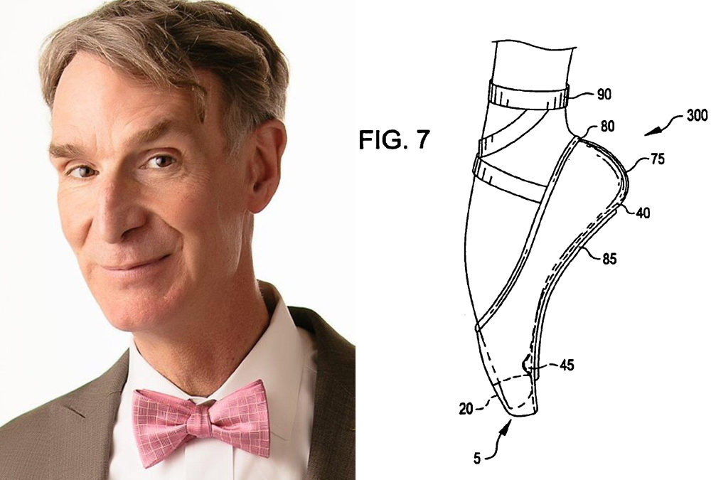 Celebrity Patent Profile: Bill Nye